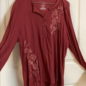 FREE W/ANY PURCHASE Sonoma XL Flower blouse top